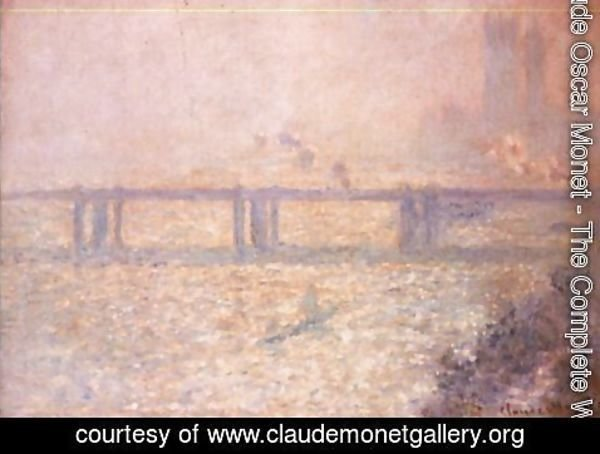 Claude Oscar Monet - Charing Cross Bridge, London