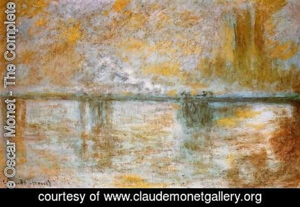 Claude Oscar Monet - Charing Cross Bridge III
