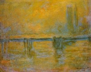 Claude Oscar Monet - Charing Cross Bridge, Fog