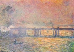 Claude Oscar Monet - Charing Cross Bridge VII