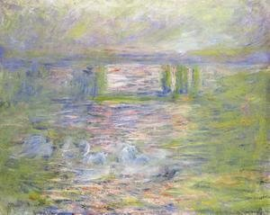 Claude Oscar Monet - Charing Cross Bridge VIII
