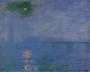 Claude Oscar Monet - Charing Cross Bridge, Fog on the Themes