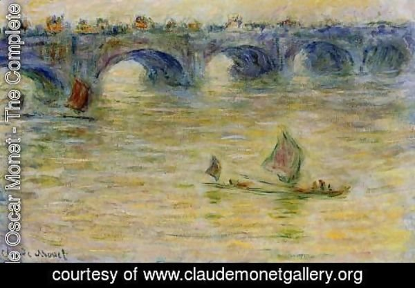 Claude Oscar Monet - Waterloo Bridge II
