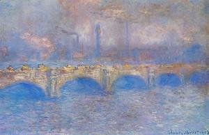 Claude Oscar Monet - Waterloo Bridge, Sunlight Effect I