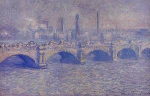 Claude Oscar Monet - Waterloo Bridge, Sunlight Effect II