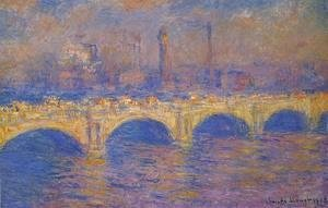 Claude Oscar Monet - Waterloo Bridge, Sunlight Effect III