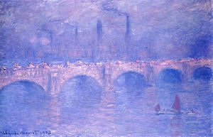 Claude Oscar Monet - Waterloo Bridge, Hazy Sun