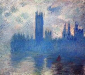 Claude Oscar Monet - Houses of Parliament, Westminster
