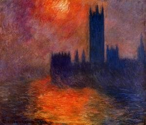 Houses of Parliament, Sunset I
