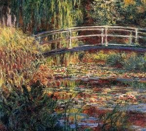Claude Oscar Monet - Water-Lily Pond, Symphony in Rose