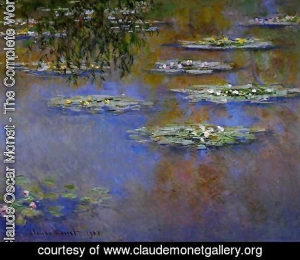 Claude Oscar Monet - Water-Lilies III