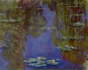 Claude Oscar Monet - Water-Lilies IV
