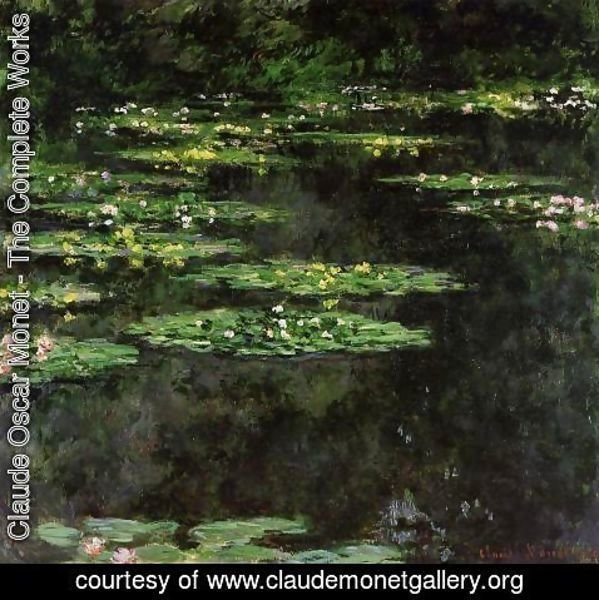 Claude Oscar Monet - Water-Lilies V
