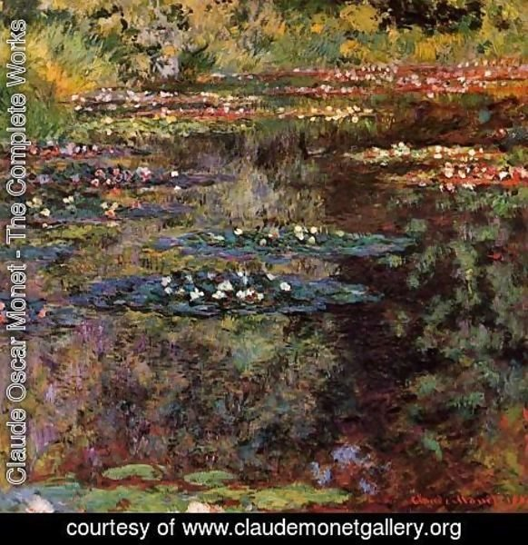 Claude Oscar Monet - Water-Lilies VI
