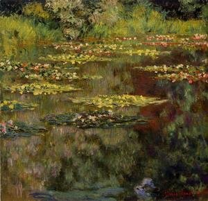 Claude Oscar Monet - Water-Lilies VII
