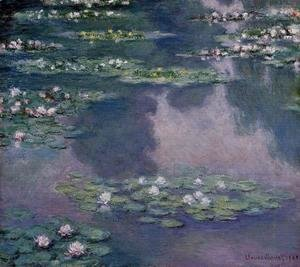 Claude Oscar Monet - Water-Lilies IX