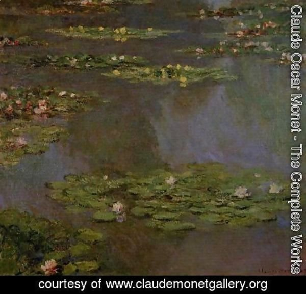 Claude Oscar Monet - Water-Lilies X