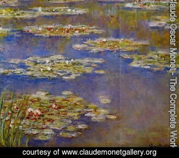 Claude Oscar Monet - Water-Lilies XI