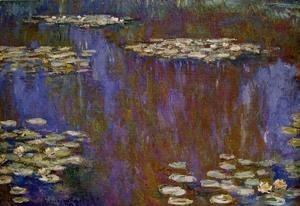 Claude Oscar Monet - Water-Lilies XII