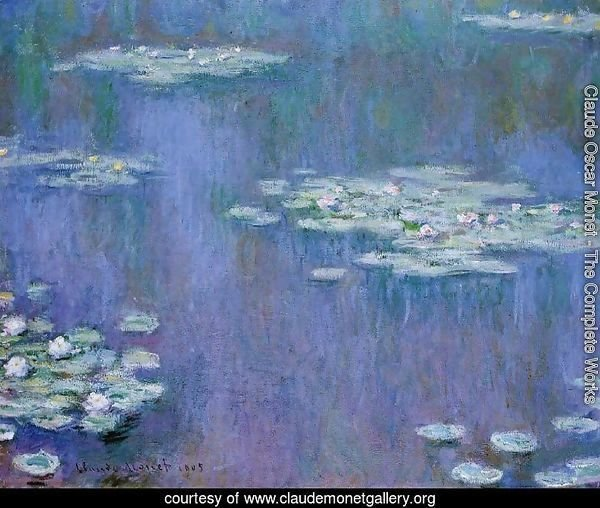 Water-Lilies XIII