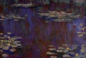 Claude Oscar Monet - Water-Lilies XIV