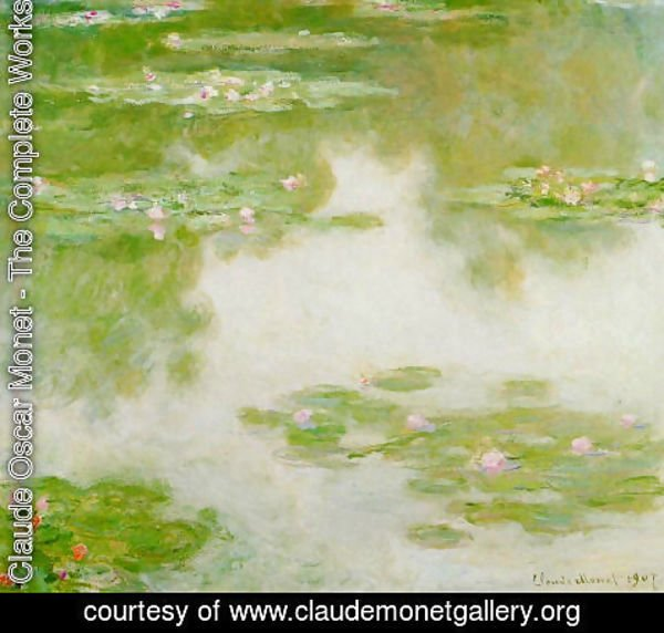 Claude Oscar Monet - Water-Lilies 3