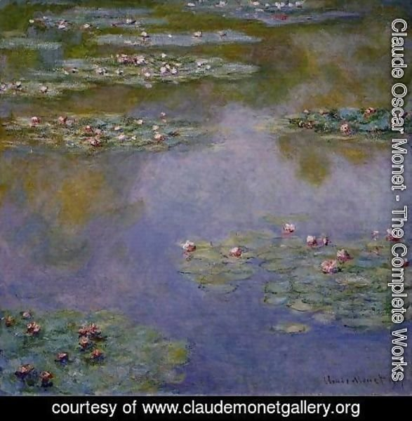 Claude Oscar Monet - Water-Lilies 4