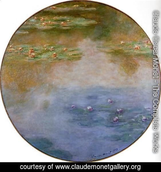 Claude Oscar Monet - Water-Lilies 5