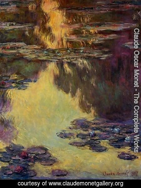 Claude Oscar Monet - Water-Lilies 8
