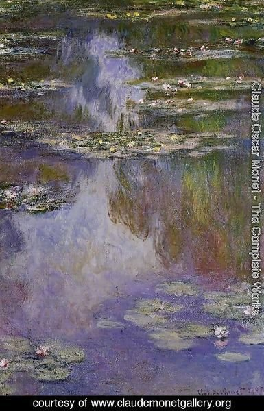 Claude Oscar Monet - Water-Lilies 9