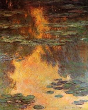 Claude Oscar Monet - Water-Lilies 11