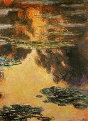 Claude Oscar Monet - Water-Lilies 12