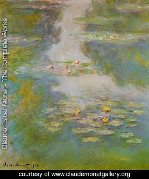 Claude Oscar Monet - Water-Lilies 16