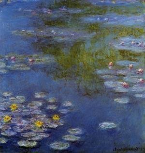 Claude Oscar Monet - Water-Lilies 17
