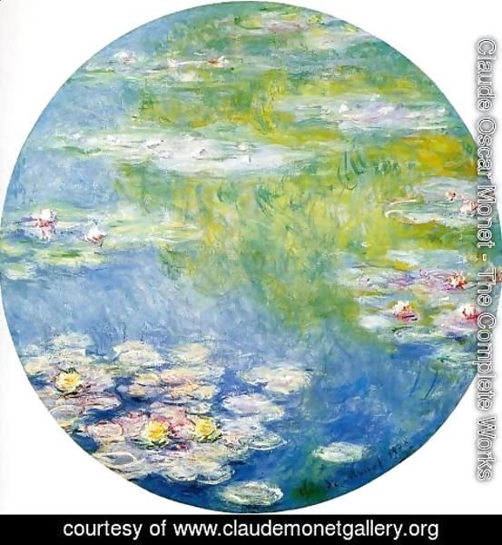 Claude Oscar Monet - Water-Lilies 18