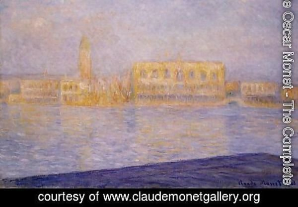 Claude Oscar Monet - The Doges' Palace Seen from San Giorgio Maggiore III