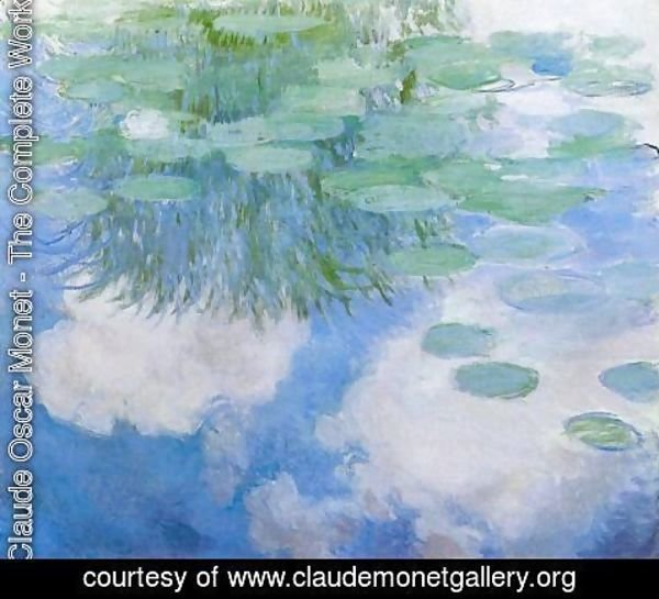 Claude Oscar Monet - Water-Lilies 24