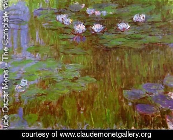 Claude Oscar Monet - Water-Lilies 26