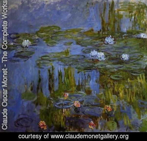 Claude Oscar Monet - Water-Lilies 28
