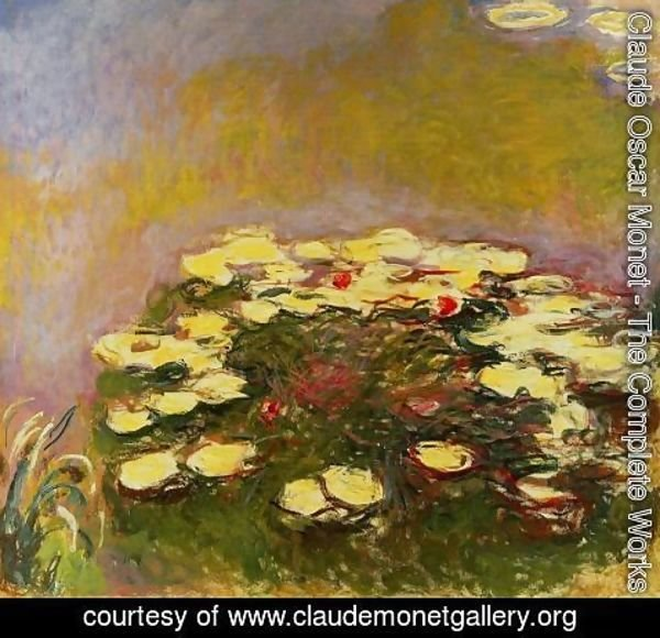 Claude Oscar Monet - Water-Lilies 31