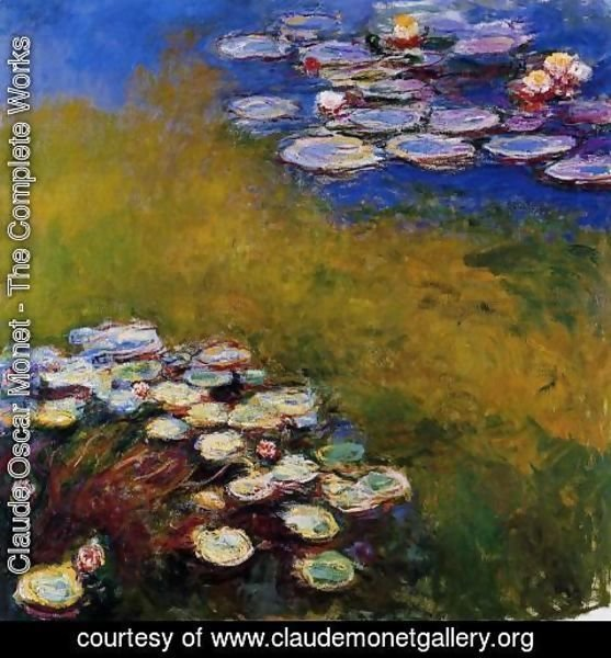 Claude Oscar Monet - Water-Lilies 32