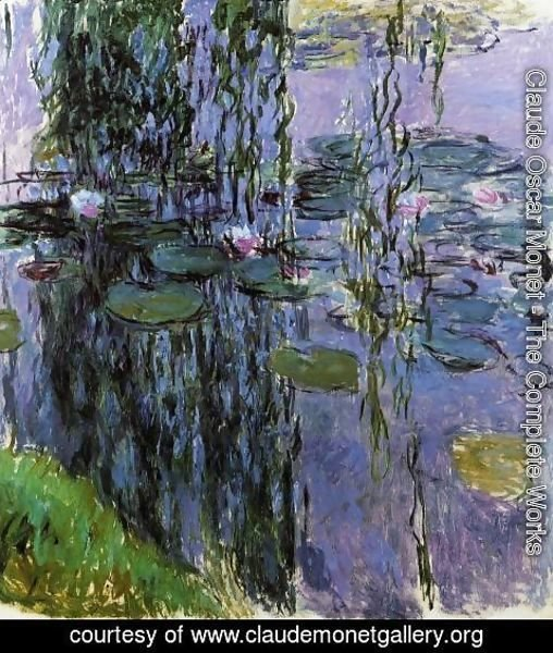 Claude Oscar Monet - Water-Lilies 35