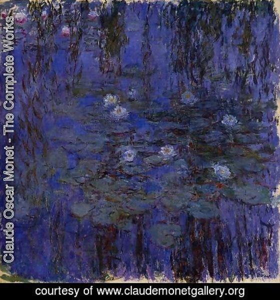 Claude Oscar Monet - Water-Lilies 37