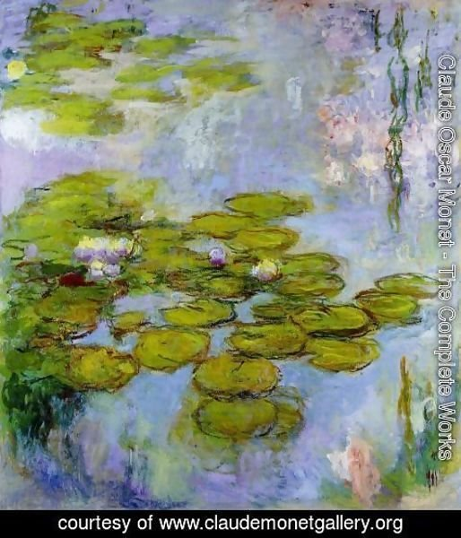 Claude Oscar Monet - Water-Lilies 38