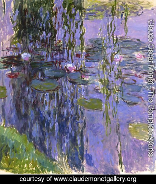 Claude Oscar Monet - Water-Lilies 39
