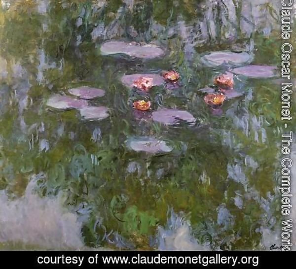Claude Oscar Monet - Water-Lilies 40
