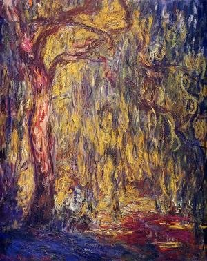 Claude Oscar Monet - Weeping willow 2