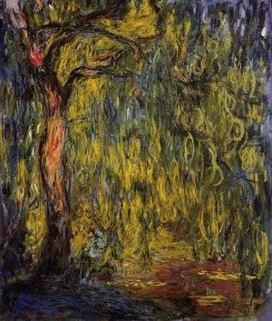 Claude Oscar Monet - Weeping Willow I