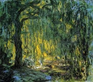 Claude Oscar Monet - Weeping Willow II