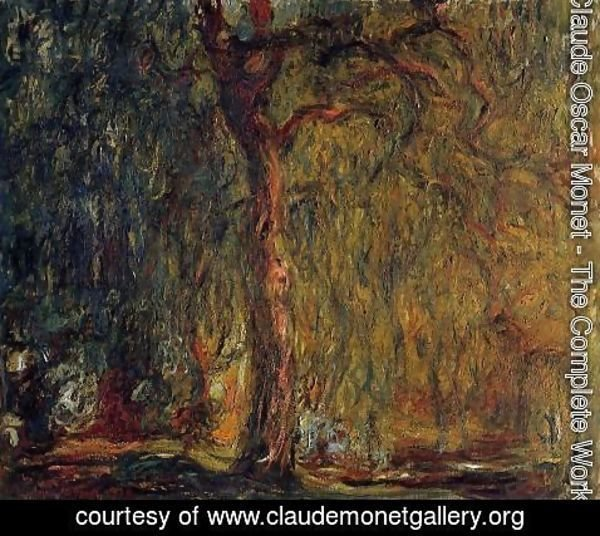 Claude Oscar Monet - Weeping Willow VI